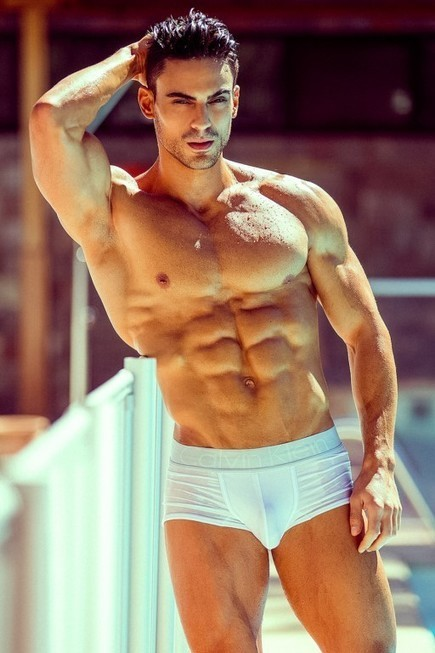 MALE MODELS OF THE WORLD: MEN'S PHYSHIQUE'S JOSE LUIS ANGULO, IFBB ATHLETE AND FITNESS MODEL BY ADRIAN C. MARTIN | THEHUNKFORM.COM | Scoop.it