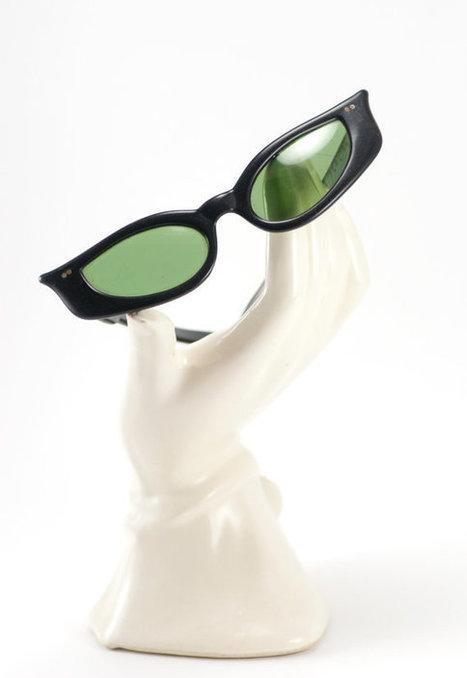 Vintage 1950s/1960s Polaroid Cat Eye Sunglasses Cool Ray 125 | Eyewear | Scoop.it