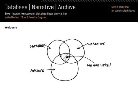 D|N|A - Seven interactive essays on digital nonlinear storytelling | Interactive Documentary (i-Docs) | Scoop.it