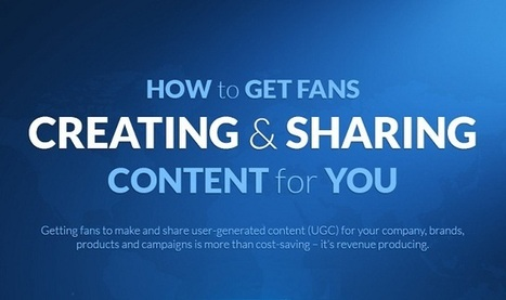 How to Get Fans Creating and Sharing Content for You #infographic | Internet Presence | Scoop.it