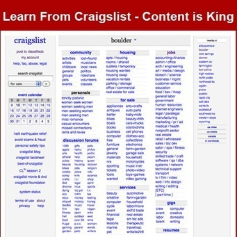 What Content Marketing Can Learn From Craigslist | Online Classifieds | Scoop.it