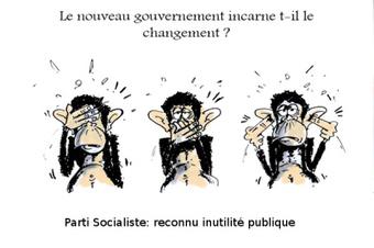 Dessin: la politique de changement du PS en France | Moi François Hollande président News de la gauche Bobo | Scoop.it