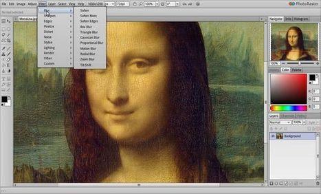 Photo Raster, excelente alternativa al clásico Paint completamente online | Herramientas digitales | Scoop.it