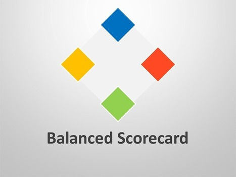 Balanced Scorecard PowerPoint Template | Editable & Ready-to-use PPT slides (information, maps, graphs, data) | Scoop.it