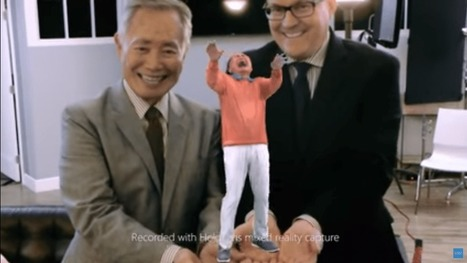 George Takei Finally Becomes a Hologram Thanks to the Microsoft HoloLens | internet radio how to | Scoop.it