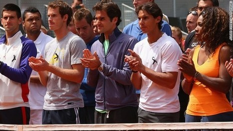 Tennis stars Federer and Nadal honor 'a very loved man' | Social News Blog | Scoop.it