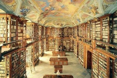 Twitter / antoinekowalski: La bibliothèque de l'Abbaye ... | Bibliosurf on the web for ... | Scoop.it
