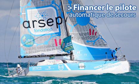 Défi Voile Sclérose en Plaques sur la Route du Rhum 2014   Crowdfunding Nautisme   Scoop.it
