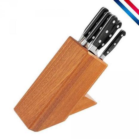 Bloc 6 couteaux de cuisine forgés, cuisine du chef - Made in France | Istyl | News coutellerie internationale | Scoop.it