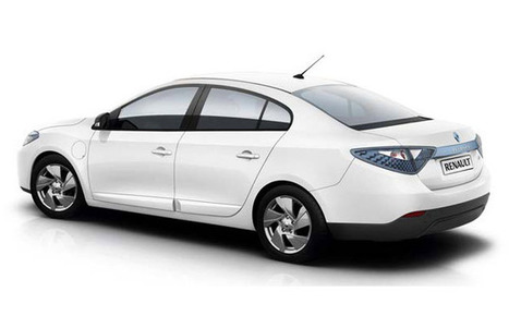Renault Fluence ZE — Gallery: 10 Cool Electric Cars | Complex | Electric Car Pictures | Scoop.it