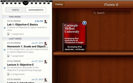 Free videos for new iPad apps programming course at CMU now available | KurzweilAI | Entrepreneurs-1 | Scoop.it