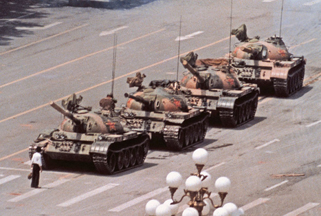Tiananmen Square photographer says iconic 'Tank Man' image was a 'lucky shot' | What's new in Visual Communication? | Scoop.it