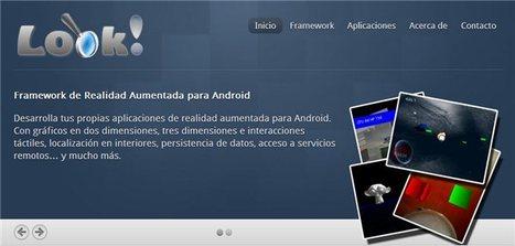Look – Para crear nuestras propias aplicaciones de realidad aumentada   Ticenelaula   Scoop.it
