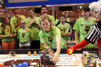 Female Roboticist Wants Girls to Build, Break, and Make Things | Robotics in Manufacturing Today | Scoop.it