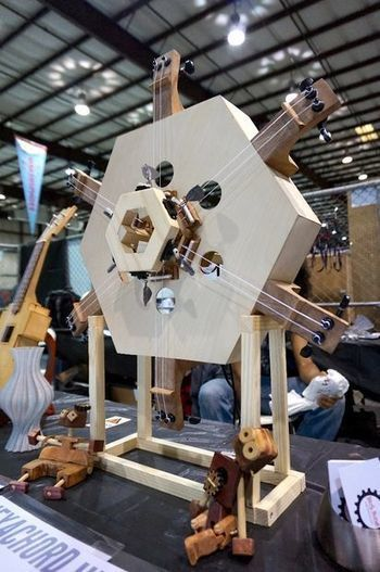 The Hexachord, an Arduino-Controlled Musical Instrument | Raspberry Pi | Scoop.it