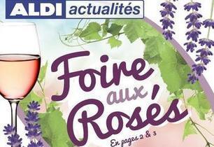Aldi s'offre une foire aux rosés! | Vos Clés de la Cave | Scoop.it
