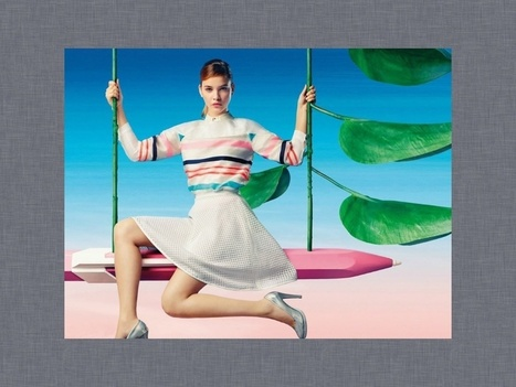 Barbara Palvin for Lily China | FASHION LILY SS14 - BARBARA PALVIN CAMPAIGN BY FRED & FARID SHANGHAI | Scoop.it