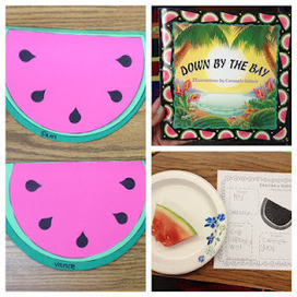 Apples and ABC's: Adventures in Kindergarten: Watermelon Writing ... | CU'I Watermelon Drink | Scoop.it