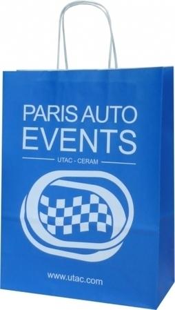 Exemple de sac papier kraft: Paris Auto Events   Sac papier publicitaire   Scoop.it