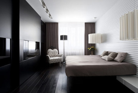 Modern Elegance Displayed by Generously-Sized Moscow Apartment | Casas del mundo | Scoop.it