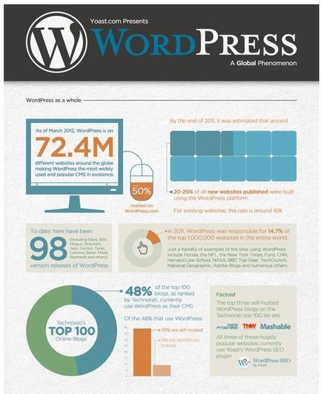WordPress Stats Infographic • Yoast | Artdictive Habits : Sustainable Lifestyle | Scoop.it
