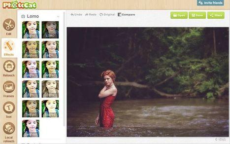 PhotoCat: fantástico editor de imágenes online, además de gratuito | TIC - Recull de consells i recursos | Scoop.it