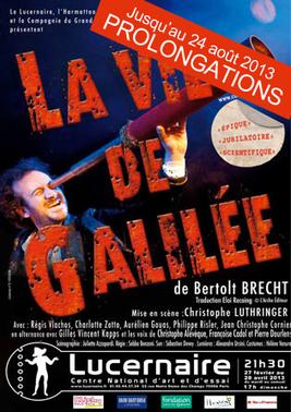 Christophe Luthringer – La Vie de Galilée, prolongations | Spectacle Renaissance et les talents qui le font | Scoop.it