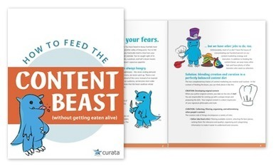 Blending Creation and Curation in a Perfectly Balanced Content Diet | Free eBook by Curata | How to - Marketing | Scoop.it