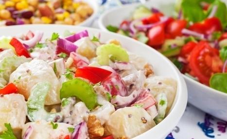 Recetas de ensaladas navideñas ¡Disfruta de manera light! | Alimentos | Scoop.it