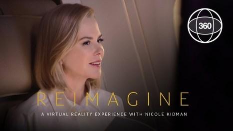 Un film en VR avec Nicole Kidman pour promouvoir Etihad Airway | Communication transmédia | Scoop.it