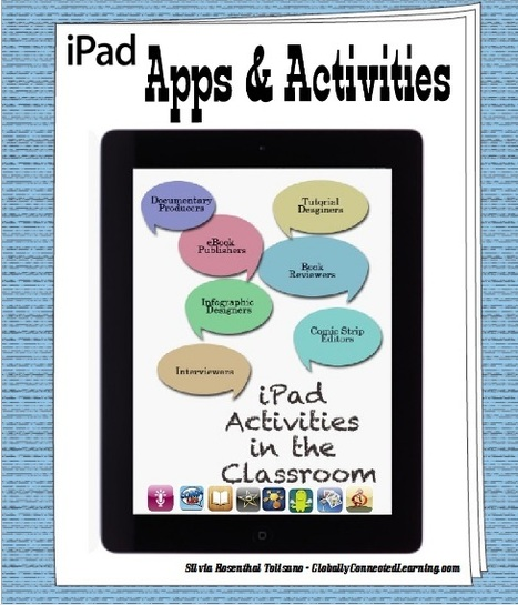 Great iPad Apps and Activities for Teachers ~ Educational Technology and Mobile Learning | iPads in Education | Scoop.it