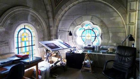 Visitez cette immense chapelle transformée en logement | Construire sa maison avec un architecte | Scoop.it