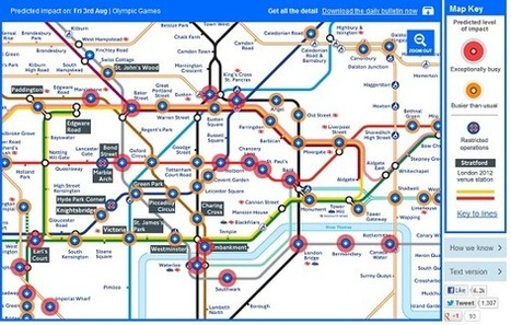 Map of the Week: Map Your Way Through the London Olympics | #GoogleMaps | Scoop.it