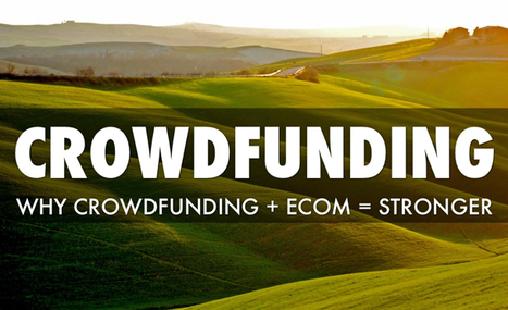 5 Reasons Crowdfunding and E-Commerce Are Stronger Together | Daily Magazine | Scoop.it