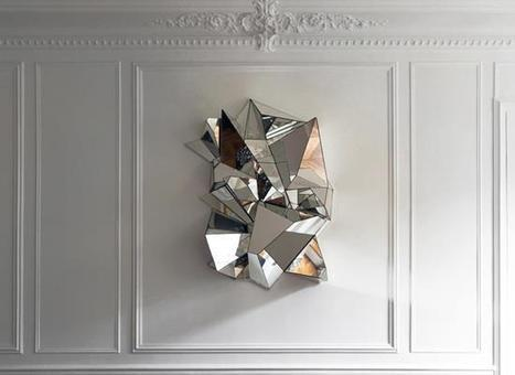 Crumpled Mirror by Mathias Kiss | Art Installations, Sculpture, Contemporary Art | Scoop.it