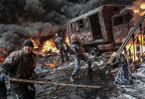 Kiev en feu | Photos Andrey Stenin de l'Agence RIA Novosti | Photography News Journal | Scoop.it