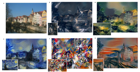 Alogrithm turns any picture into the work of a famous artist | Books, Photo, Video and Film | Scoop.it