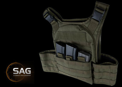 New SAGear Mag Inserts & M98 Camo | Popular Airsoft | Airsoft Showoffs | Scoop.it