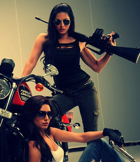 Sunny Leone and Karishma Tanna get into action   Breaking News India   Scoop.it