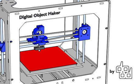DOM: Digital Object Maker | Digital Fabrication, Open Source Hardzware, DIY, DIWO | Scoop.it