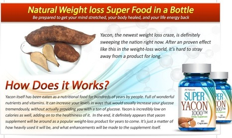Super Yacon 1000 Review - GET FREE TRIAL SUPPLIS LIMITED!!! | WEIGHT LOSS DAERTIANA | Scoop.it