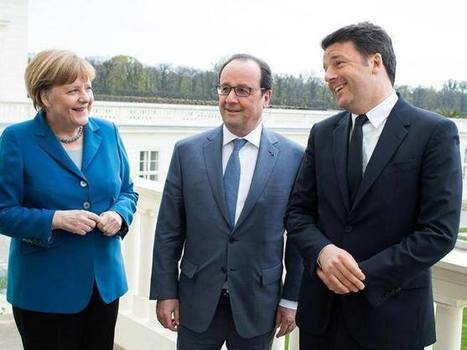 A Ventotene Renzi, Merkel e Hollande per le prove di una nuova Europa | L'Europe en questions | Scoop.it