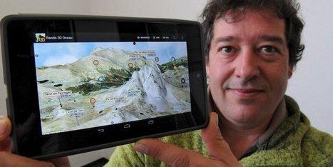Randonnées dans les Pyrénées : l'application 3D d'un trio béarnais | Randonnées | Scoop.it