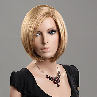 100% Japanese Kanekalon Synthetic Short Straight Blonde Wig – WigSuperDeal.com | Party Wigs | Scoop.it