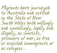 History of migration to Australia | NSW Migration Heritage Centre | THE IMMIGRATION EXPERIENCE | Scoop.it