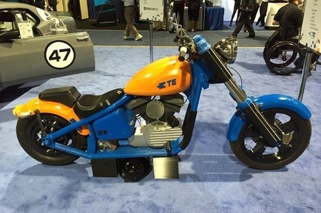 L'impression 3D dans l'industrie automobile : une voiture et une moto électriques imprimées en 3D   COMPOSITIC   Scoop.it