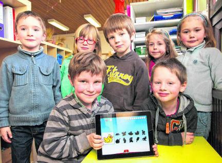Kleuters leren alfabet door op iPad te tokkelen - Het Nieuwsblad | Kleuters en ICT | Scoop.it
