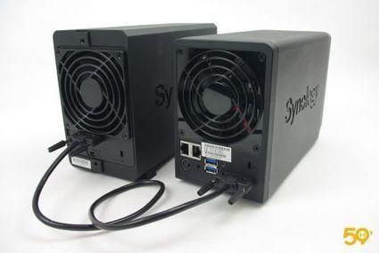 Test 59H: NAS Synology DS713+/DX213, le deux baies capable de ... - 59Hardware.net | Soho et e-House : Vie numérique familiale | Scoop.it