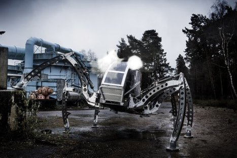 Ride This: An SUV-Size Insectoid Robot | Advanced Architecture | Scoop.it