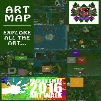 Second Life Newser: Press Release: The 11th Annual Raglan Shire ArtWalk 2016. | Art & Culture in Second Life - art Exhibitions, Literature, Groups & more | Scoop.it